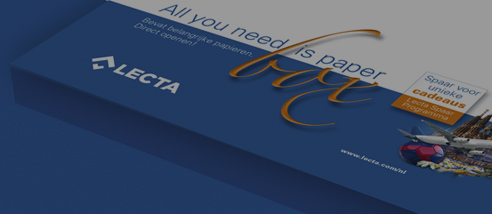 Lecta: the best paper for the best printed work